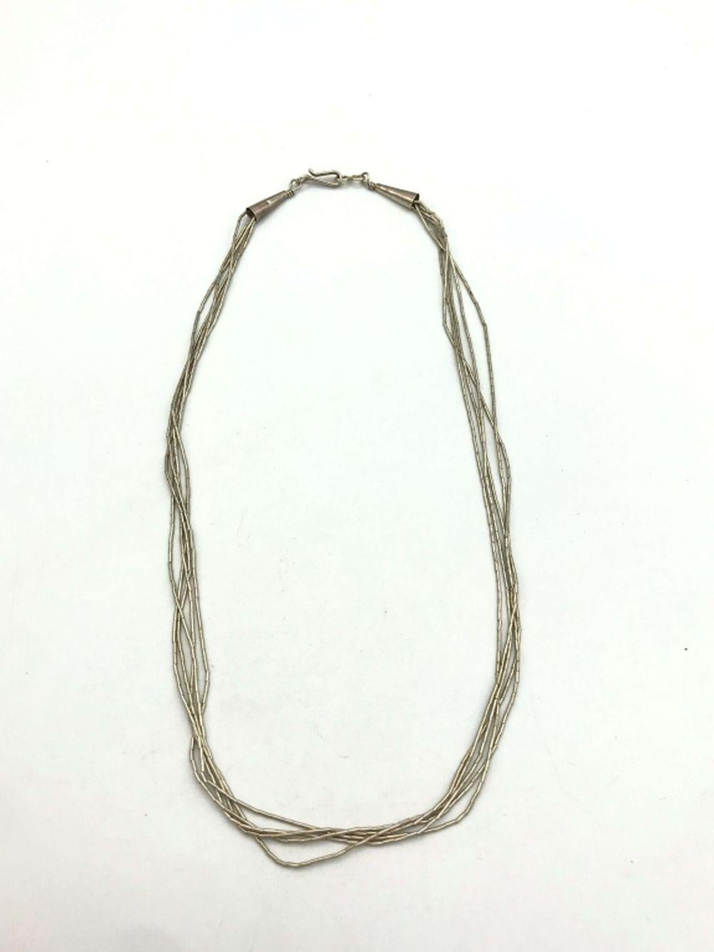 LIQUID LAYERED STERLING SILVER NECKLACE