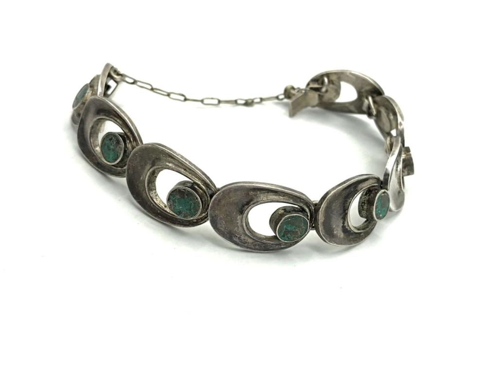 VINTAGE BRACELET APPEARS TO BE TAXCO