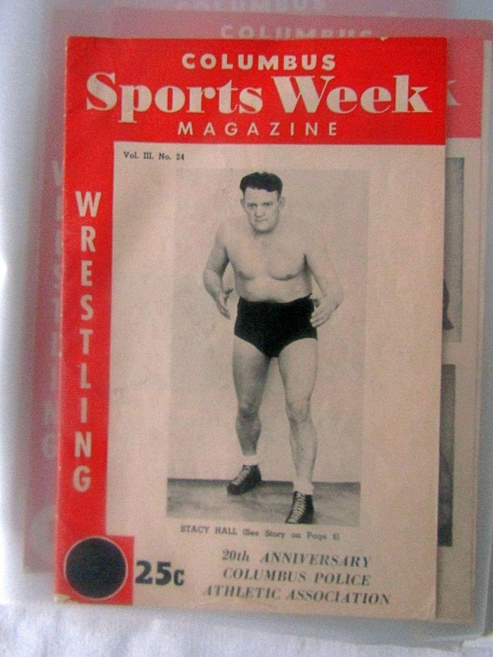 (12) 1950's COLUMBUS SPORTS WEEK MAGAZINES