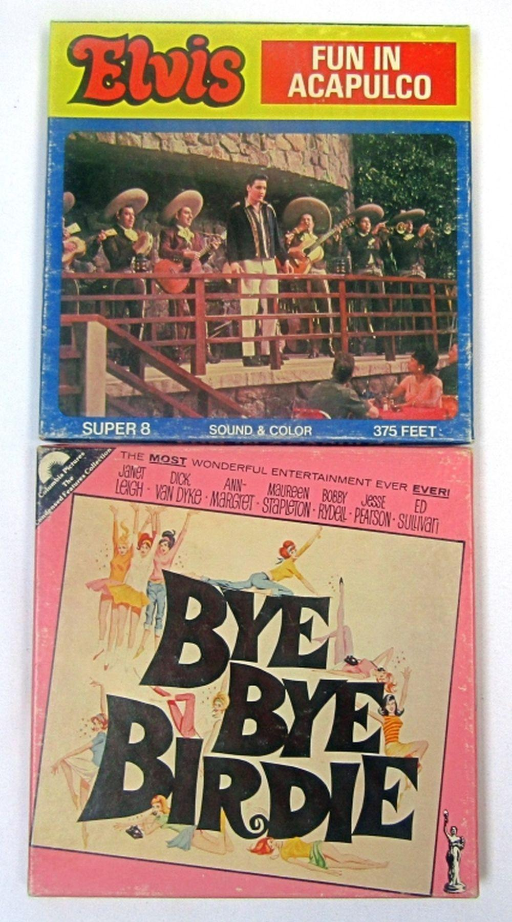 8MM FILMS! BYE BYE BIRDIE & FUN IN ACAPULCO (ELVIS
