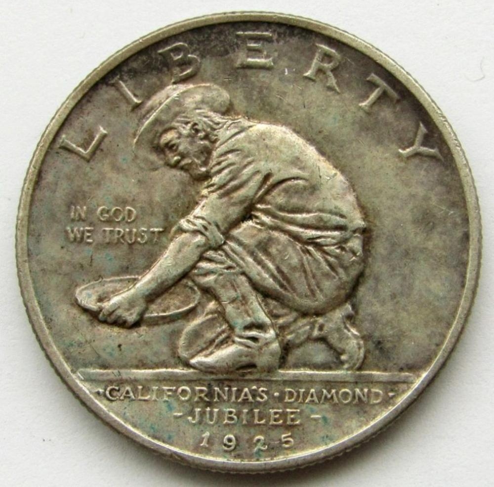 1925-S CALIFORNIA COMMEM HALF DOLLAR