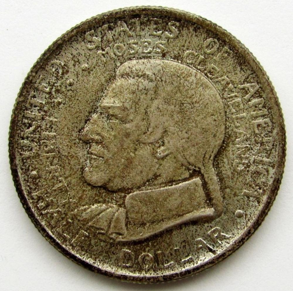1936 CLEVELAND COMMEM HALF DOLLAR