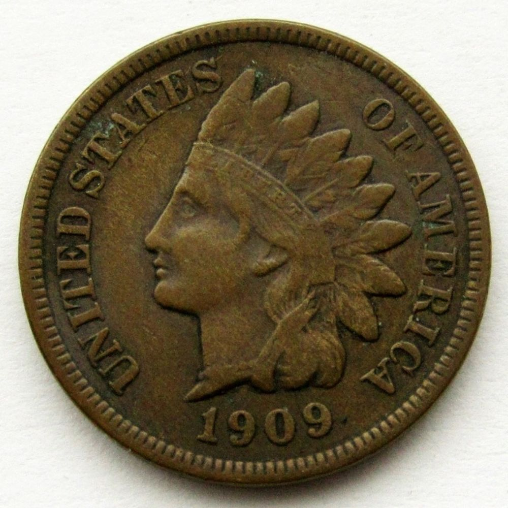 1909-S INDIAN CENT F/VF