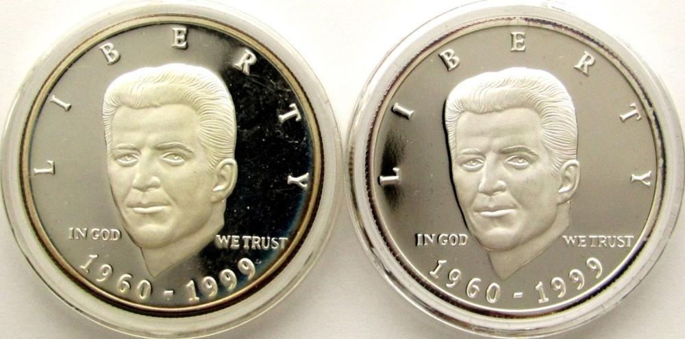 2-1960-1999 US JFK JR SALUTES YOU ART
