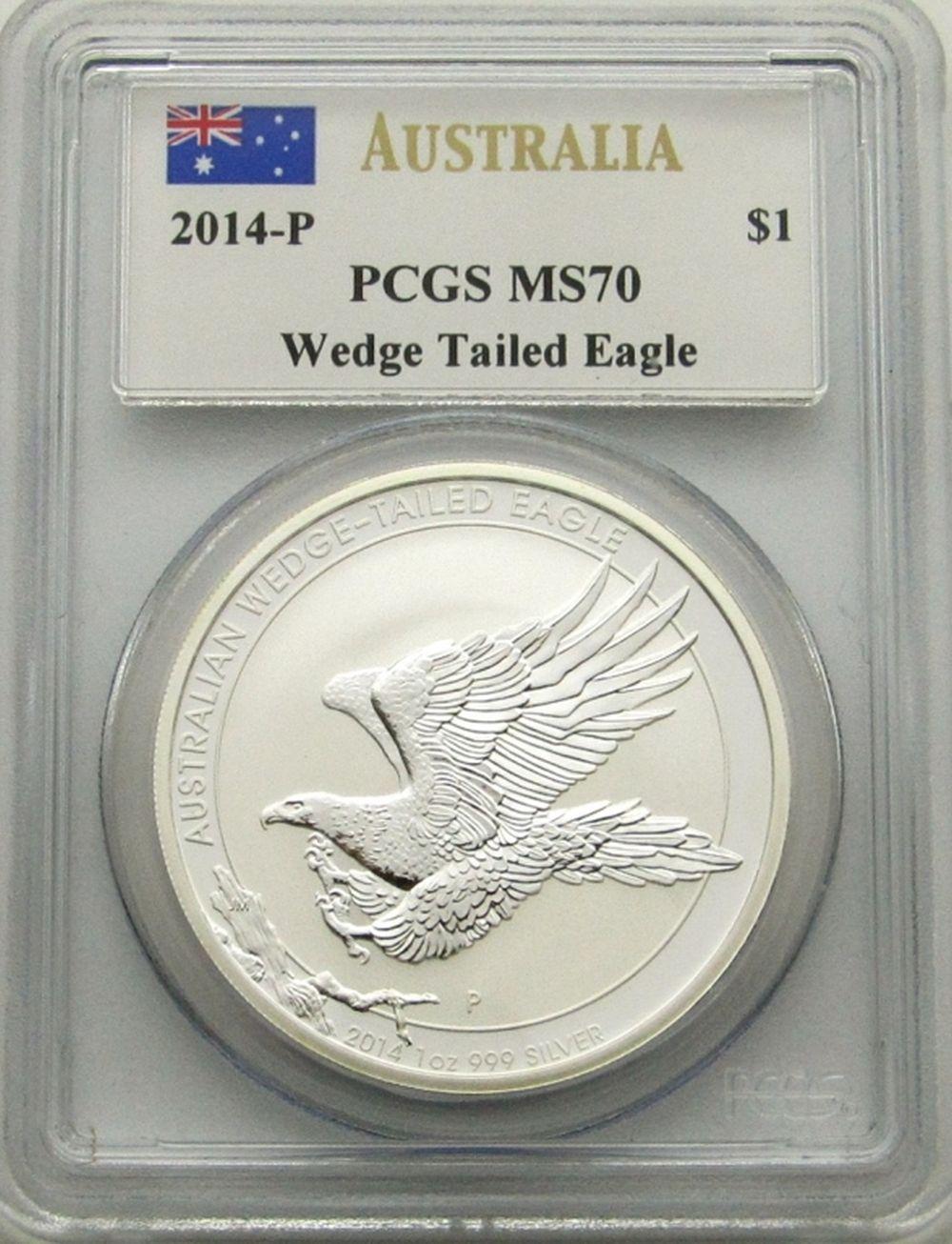 2014-P AUSTRAILIA WEDGE TAILED EAGLE