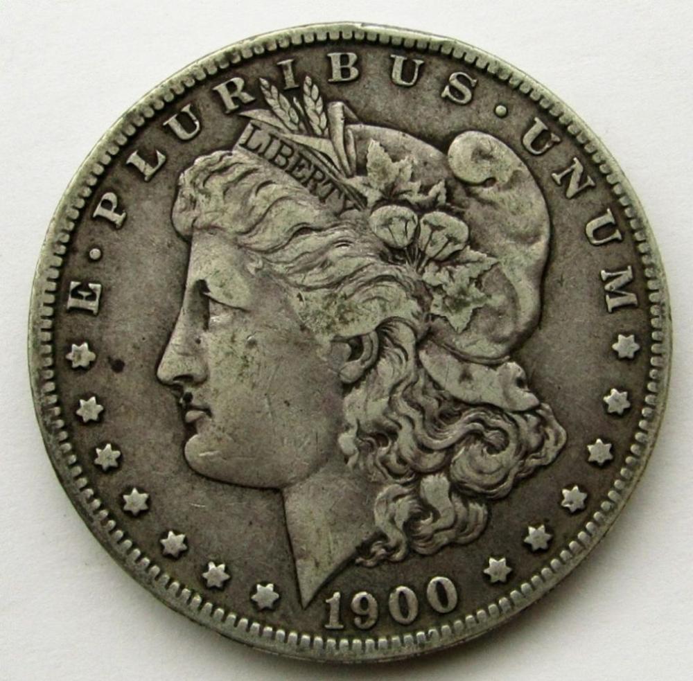 1900 O/CC MORGAN DOLLAR F/VF