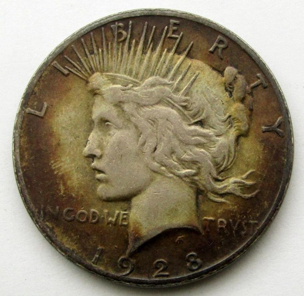 1928 PEACE DOLLAR FINE