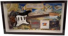 Dickey Betts Allman Brothers Band Signed Guitar Framed