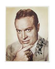 Bob Hope Signed Color Photo