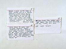 Last Vegas Billy (Michael Douglas) Screen Used Speech Movie Props