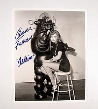 Forbidden Planet Anne Francis Signed Photo
