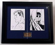 Superman/Batman Original Signed Original Artwork By Ethan Sciver