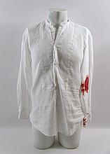 Transcendence Will's (Johnny Depp) Bloody Movie Costumes