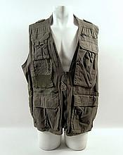 Transcendence Joseph (Morgan Freeman) Screen Worn Vest Movie Costumes
