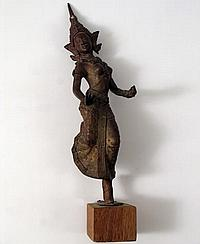 Young Indiana Jones Chronicles Dancing Woman Statue Prop