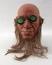Oz The Great And Powerful Master Tinker's (Bill Cobbs) Full Face Prosthetics & Goggles