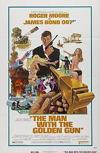 Man w/Golden Gun U.S One Sheet 27