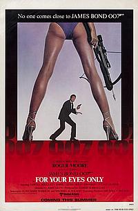 FOR YOUR EYES ONLY- Rolled Advance U.S. 1-Sheet Poster