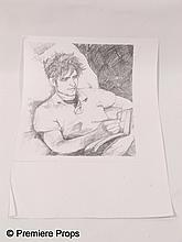 Remember Me Caroline (Ruby Jerins) Sketch of Tyler (Robert Pattinson)