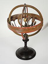 Sphère armillaire XIXe  (petits manques)