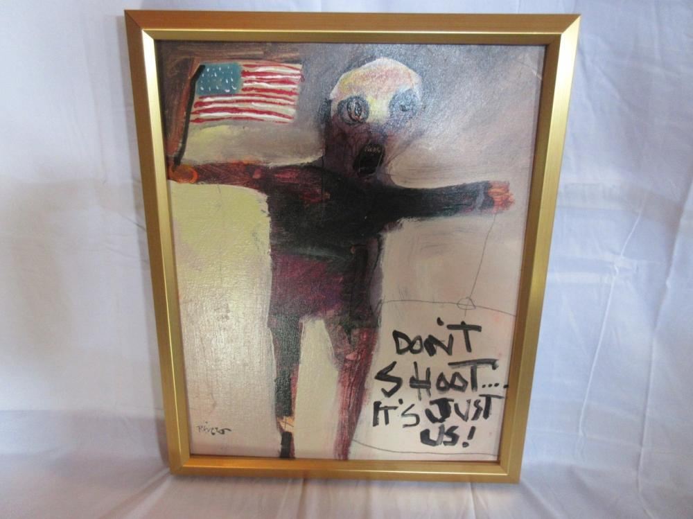 Sold Price Don T Shoot It S Just Us By Mike Rivero Oil On October 2 0120 1 00 Pm Mdt We also talk about the suspicious number of microbiologists who have turned up. don t shoot it s just us by mike rivero oil on