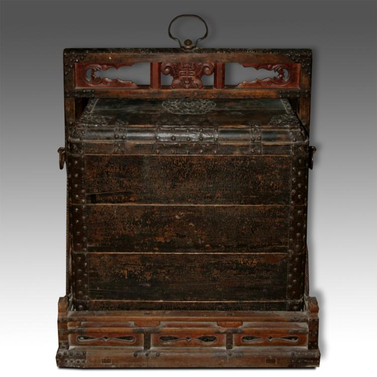 Dowry or Wedding Box on Stand