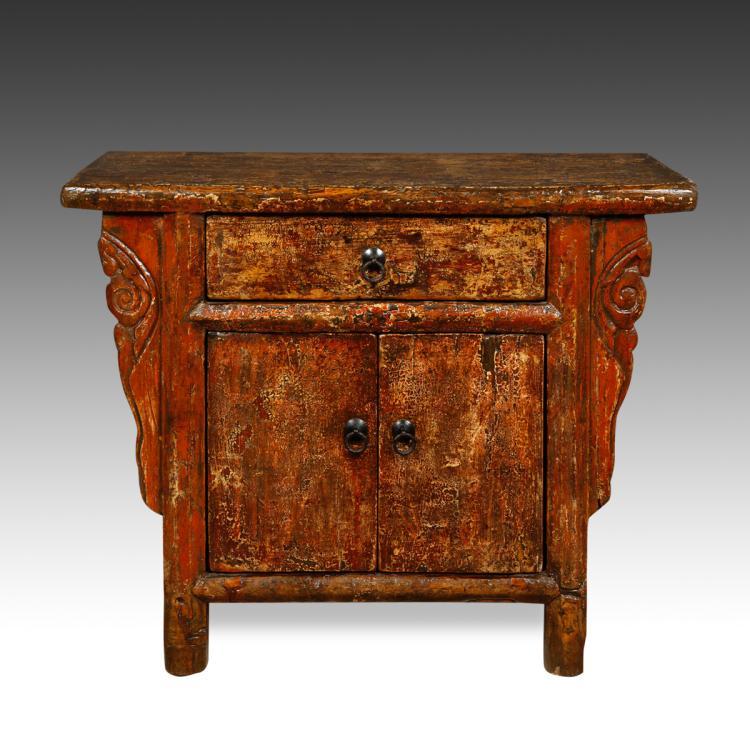 Flame Altar Cabinet