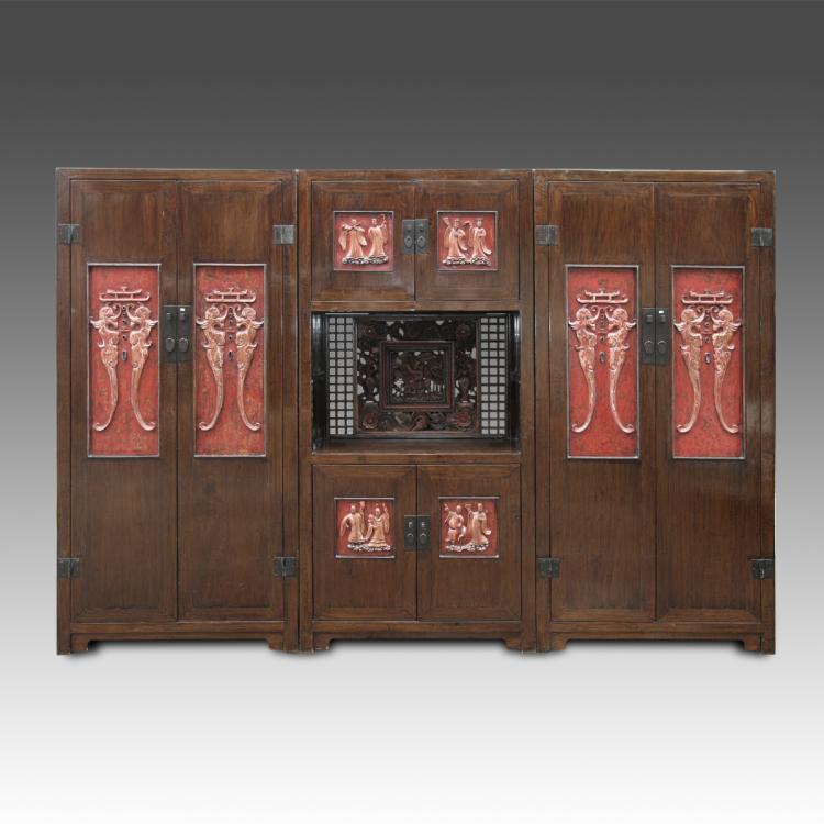 Triple Wardrobe Cabinet