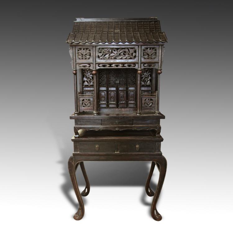 Compound Shrine Cabinet