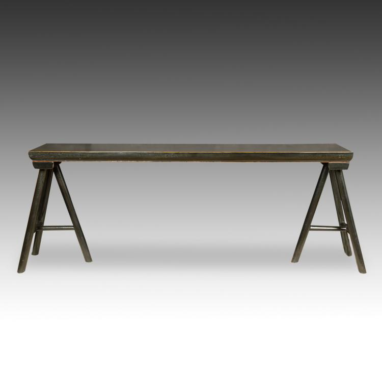 Sawhorse Style Altar Table