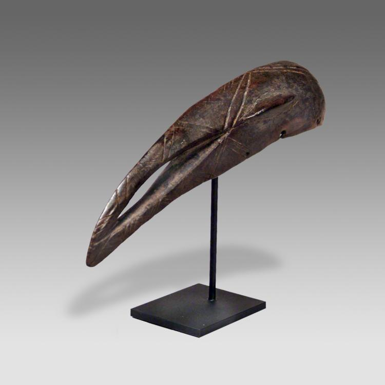 Mask Depicting Hornbill, Based