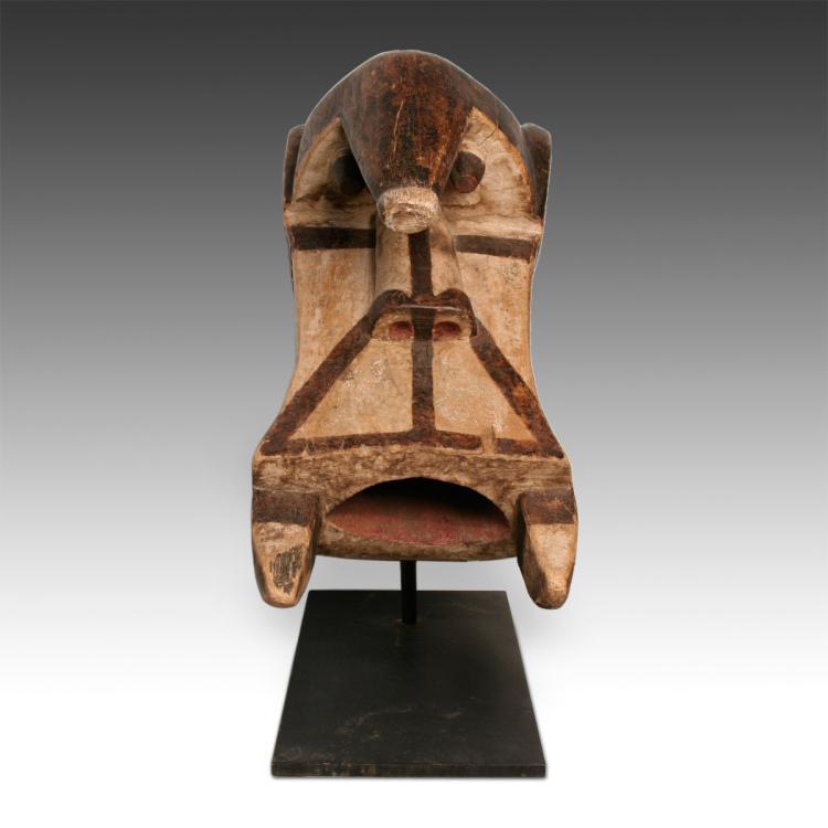 Ogbodo Enyi or Elephant Spirit Mask, Based
