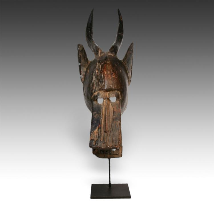 Zamble or Antelope Mask, Based