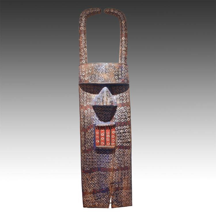 Landai Mask, Mounted
