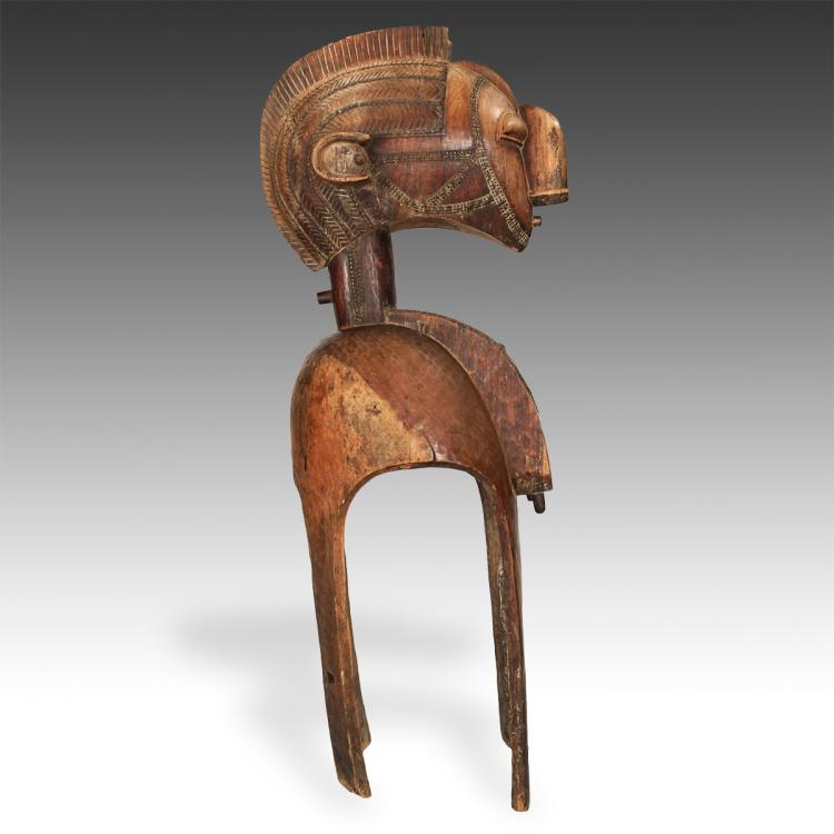 Monumental Nimba or Fertility Mother Shoulder Mask