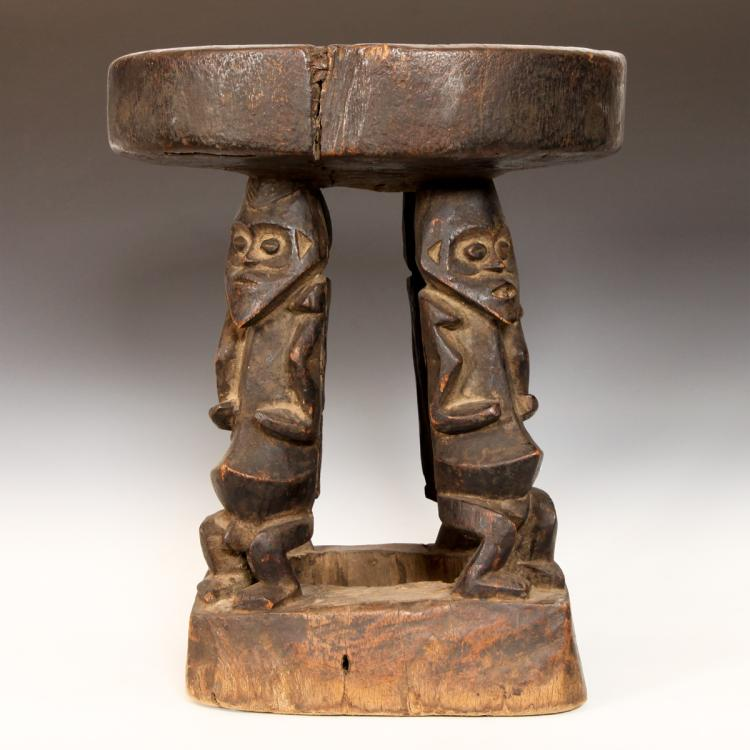 Stool with Figural Motif