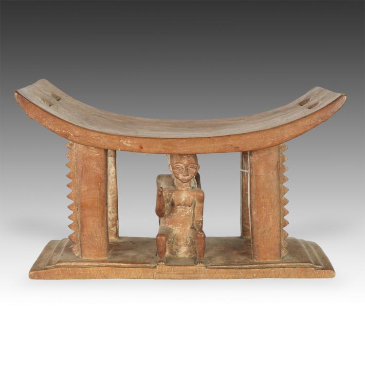 Stool with Male and Female Motif