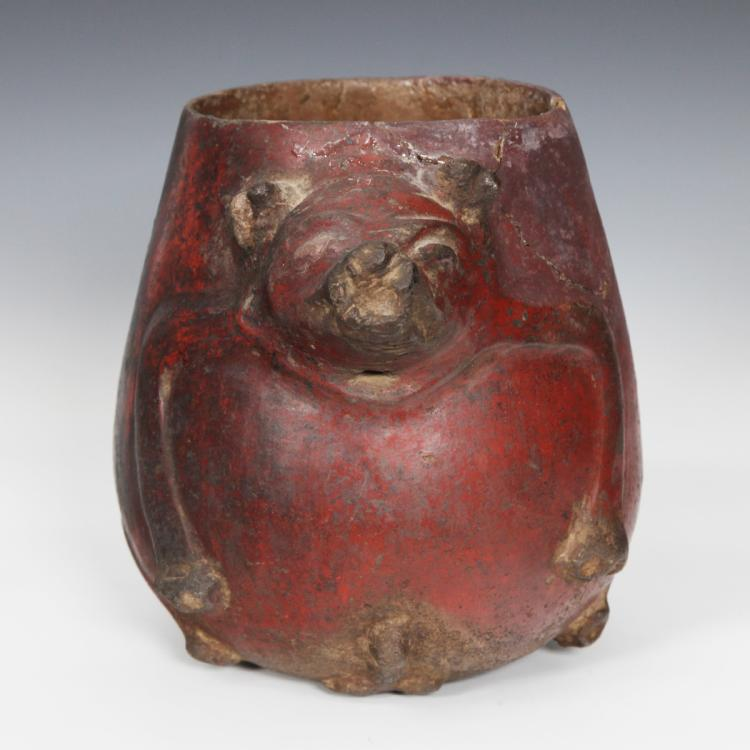 Figural Vessel Depicting Wild Boar