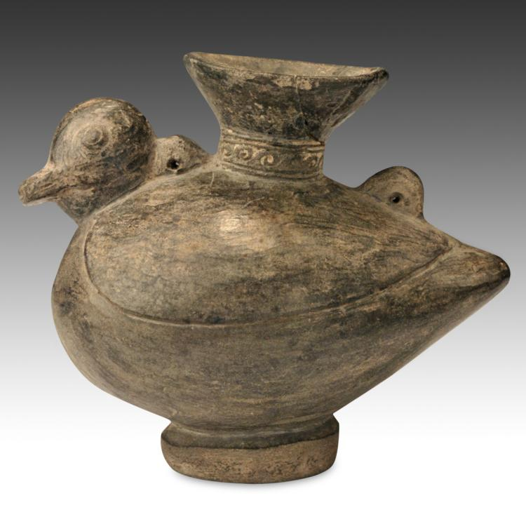 Bird-Form Vessel