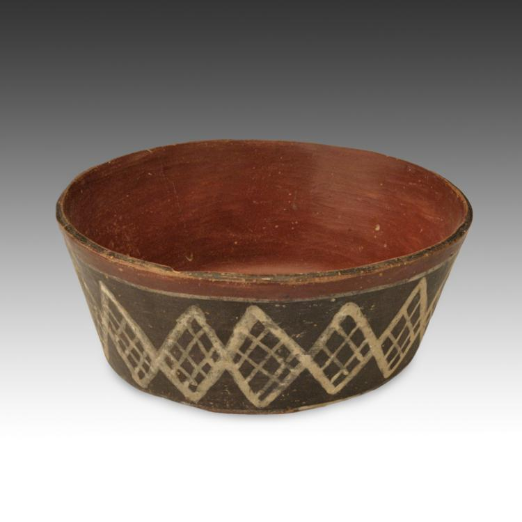 Bowl with Diamond Motif