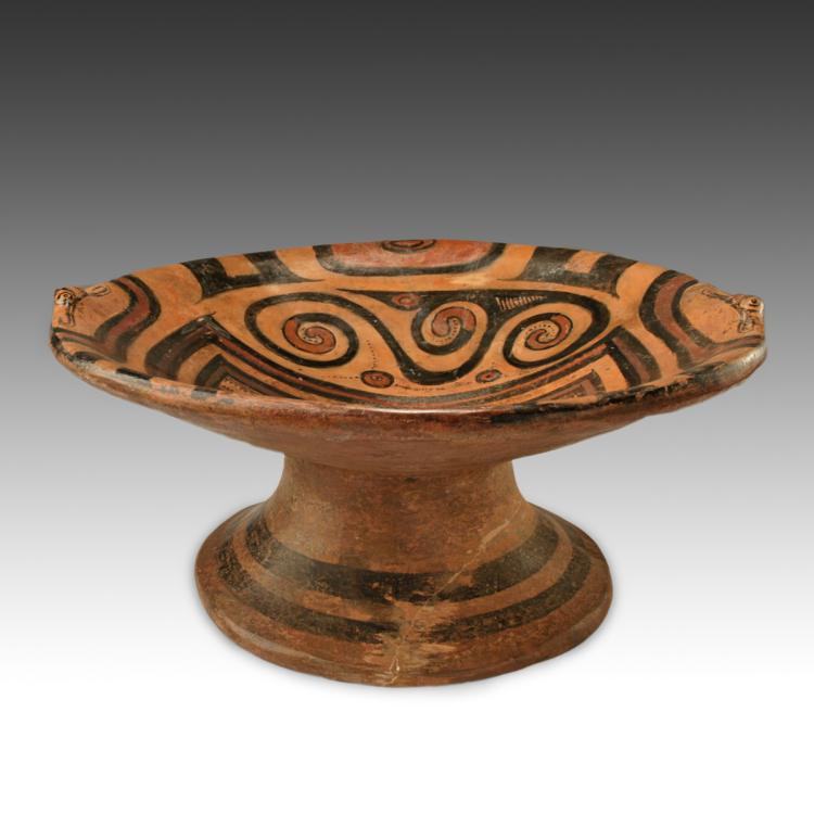 Frutero or Pedestal Bowl