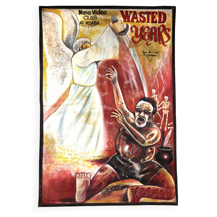 African Movie Poster, Framed