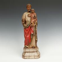 Standing Figure of Joseph and Jesus