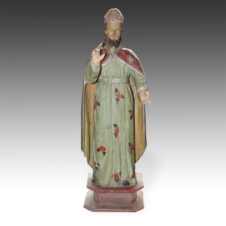 Santos of Figure of St. Benedict