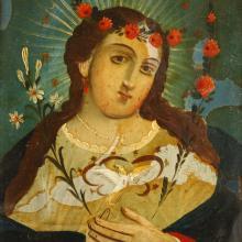 Retablo or Devotional Painting