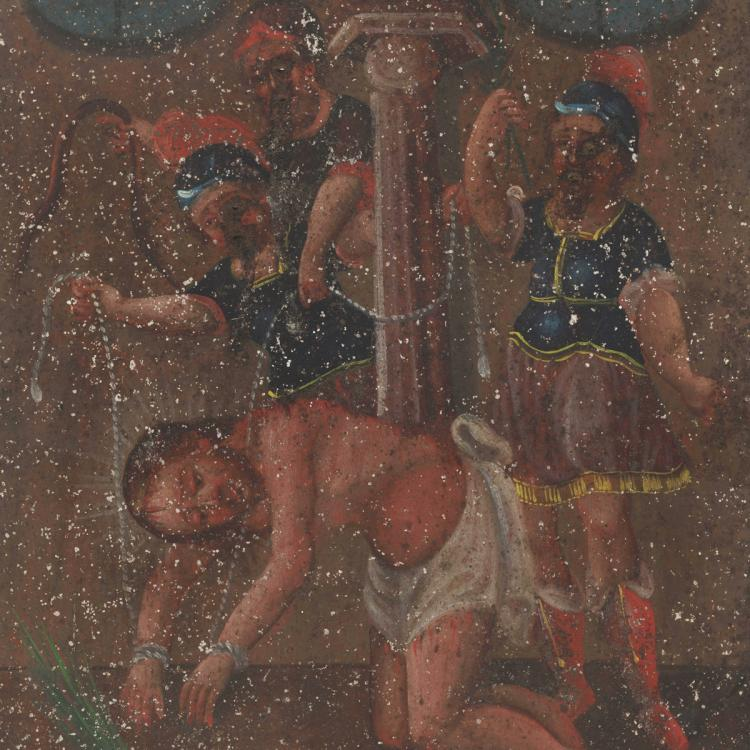 Retablo or Devotional Painting