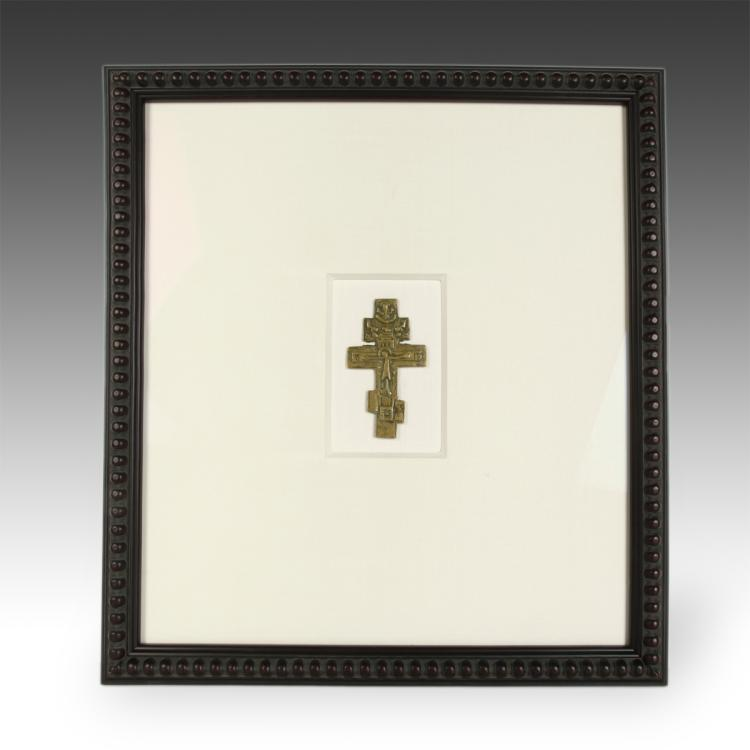 Crucifix, Framed