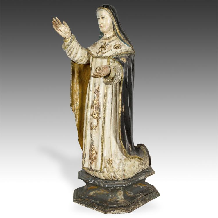 Kneeling Figure of Virgin Mary