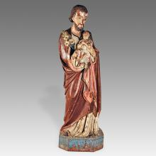 Standing Figures of Saint Joseph with Jesus