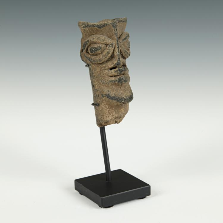 African Funerary Figure, Based
